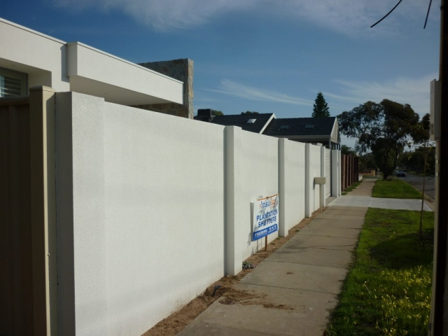 Fences manufactured from SIPs provide a great canvass for the renderers
