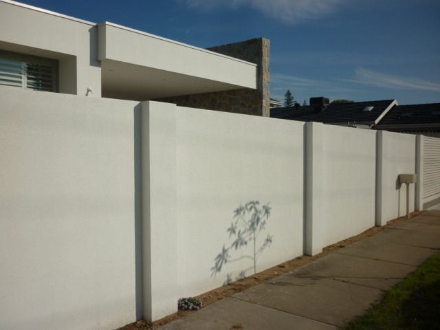 Adding comumns to the wall is a quick way of building depth to a SIP wall system